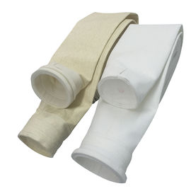 China Biodiesel Polyester Felt Filter Bag 1.8-1.9mm Thickness For Mine Steel Industries supplier