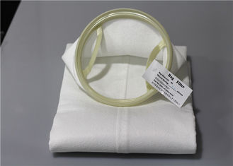 China 180 Micron Felt Liquid Filter Bag Quick Assembly Needle Punched Large Flow supplier