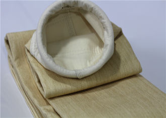 China Dust Removal Aramid Filter Bag For Metal Fabrication Customized Size With Aramid Scrim supplier