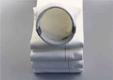 China PP Dust Collector Filter Bags Oxidation Restricted Anti Alkalis 180x400 Mm supplier