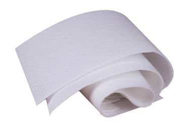 China Woven Polypropylene Felt Fabric , Monofilament PP Non Woven Fabric White supplier