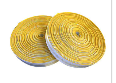 China Canvas Braided Cloth Air Slide Belt PU Coated For Roller Conveyor Systems supplier