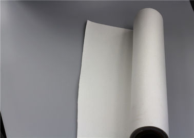 China Air Filter Fabric Roll , Polyester Non Woven Filter Cloth Precise Cutting Plain Woven supplier