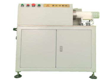 China Filter Layer Cutting Filter Cartridge Machine CE Passed With Great Efficiency supplier