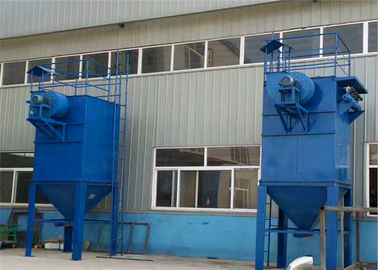 China Cupola Baghouse Dust Collector Low Pressure Pulse Bag Filter Single Machine supplier