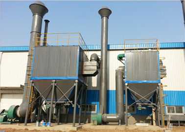 China Pulse Cloth Bag Filter Bunker Top Baghouse Dust Collection System CE Passed supplier