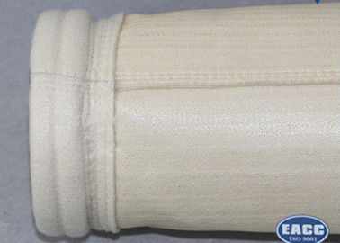 China High Efficiency Aramid Filter Bag For Melting Furnace Good Breathability Easy Operation supplier