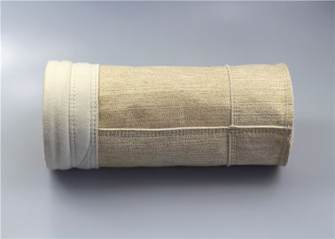 Fiberglass Nomex Filter Bag High Insulation Thermal Conductivity 450-600gsm Weight
