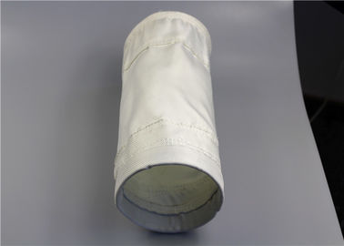PTFE Treatment Fiberglass Filter Bag Sound Absorption Shock Proof 0.3-0.5mm Thick