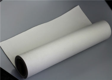 Monofilament Liquid Felt Polyester Filter Cloth Non Woven White Color 600 GSM