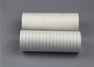 PPS Microfiber Polyester Filter Cloth 1.6-1.9mm Thickness Low Shrinkage