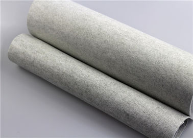 Air Dust 100 Micron Polyester Felt Filter Material Economical Universal Type