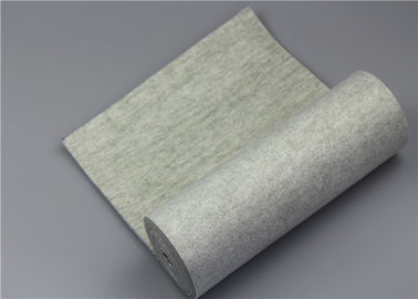 Waterproof Polyester Mesh Fabric , Felt Filter Material High Temperature Resistant