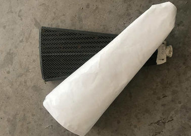 China 100 Micron Industrial Press Filter Cloth Rolls Non Woven For Vacuum Disc Filters factory