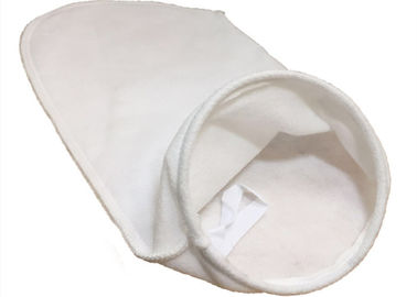 5 Micron Liquid Filter Bag Needled Filter Material 1.7mm - 3.0mm Thickness