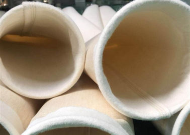 China Non Woven Nomex / Aramid Filter Bag Industrial Dust Bag Abrasion Resistance factory