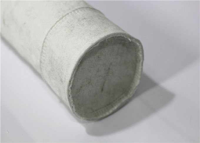 High Efficiency Needle Polyester Felt Filter Bag Synthetic Fiber Press Polished