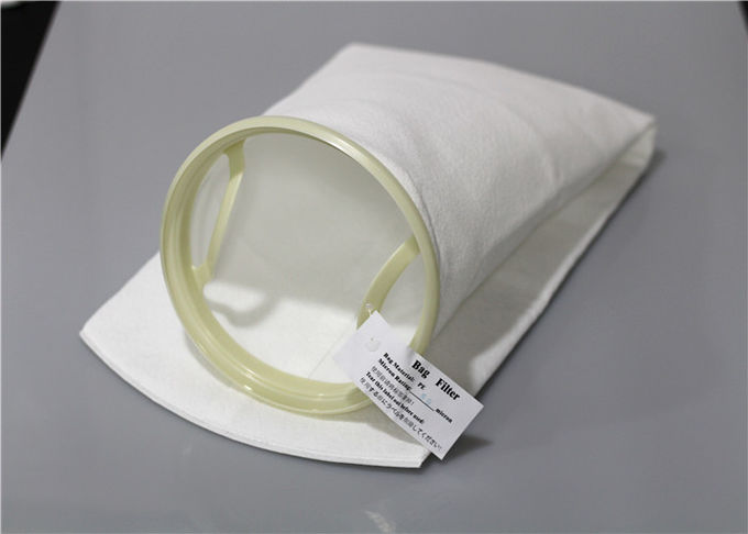 25 Micron Large Flow Mesh Filter Bags 1.8mm High Pressure Resistant For Pre Filtering Solvents