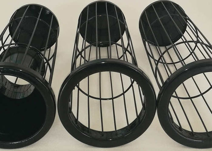Industry Dust Collector Cages Flower Aperture Customized Dimensional Stable