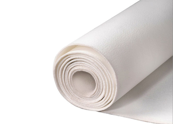 Air Filter Fabric Roll , Polyester Non Woven Filter Cloth Precise Cutting Plain Woven