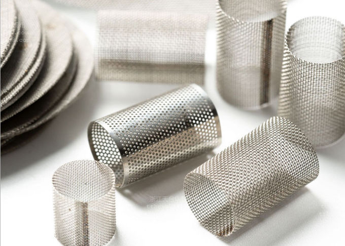 Plain Weave Stainless Steel Bolting Cloth Strong Anti Please Ability No Deformable