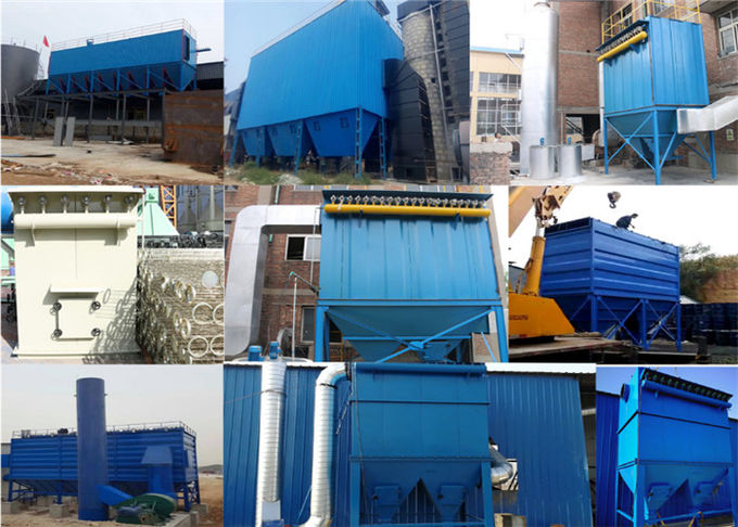 Cupola Baghouse Dust Collector Low Pressure Pulse Bag Filter Single Machine
