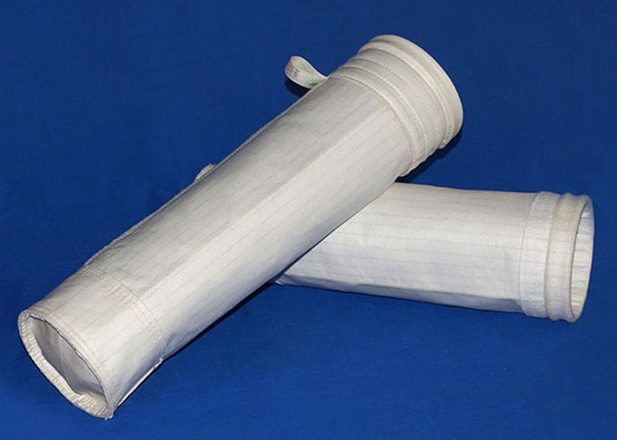Dust Collector Polyester Felt Filter Bag Round Bottom Type With PTFE Membrane