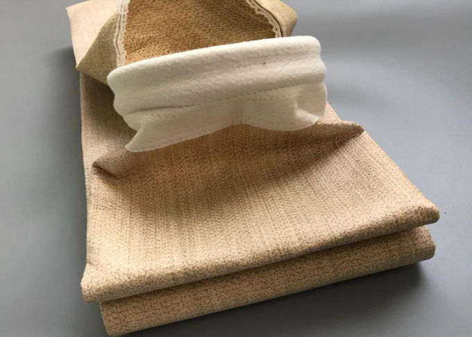 Synthetic Fiber Dust Filtration Bags Aramid Filter Bag High Energy Consumption